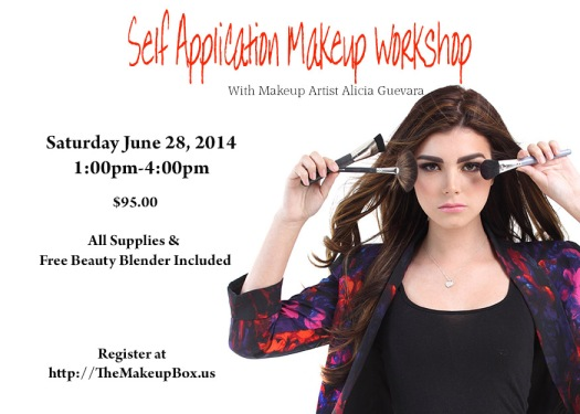 SELF APPLICATION MAKEUP WORKSHOP JUNE 2014